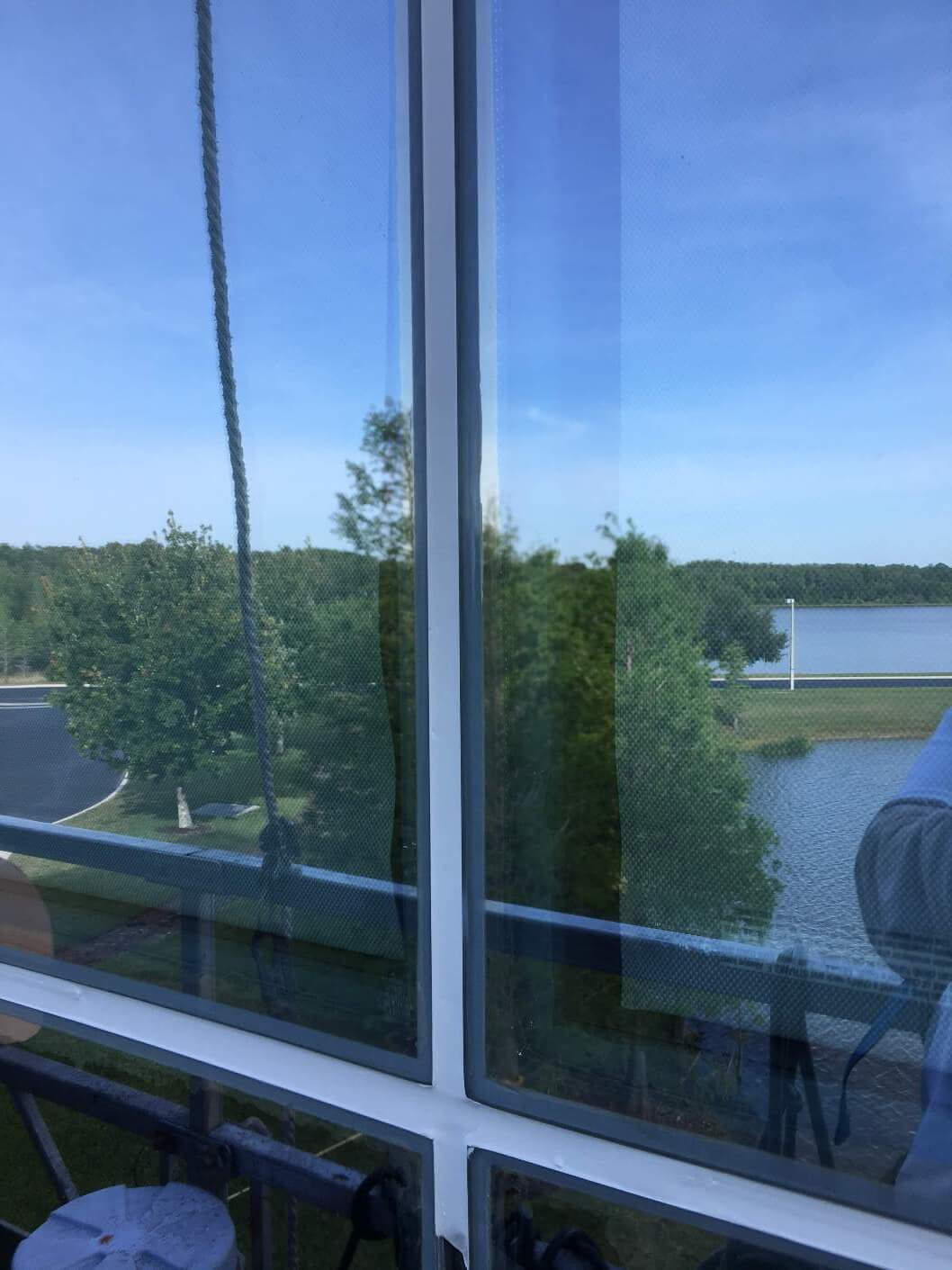 Darden-HQ-office-building-Orlando-FL-glass-caulking-presto-restoration-waterproofing-sealants