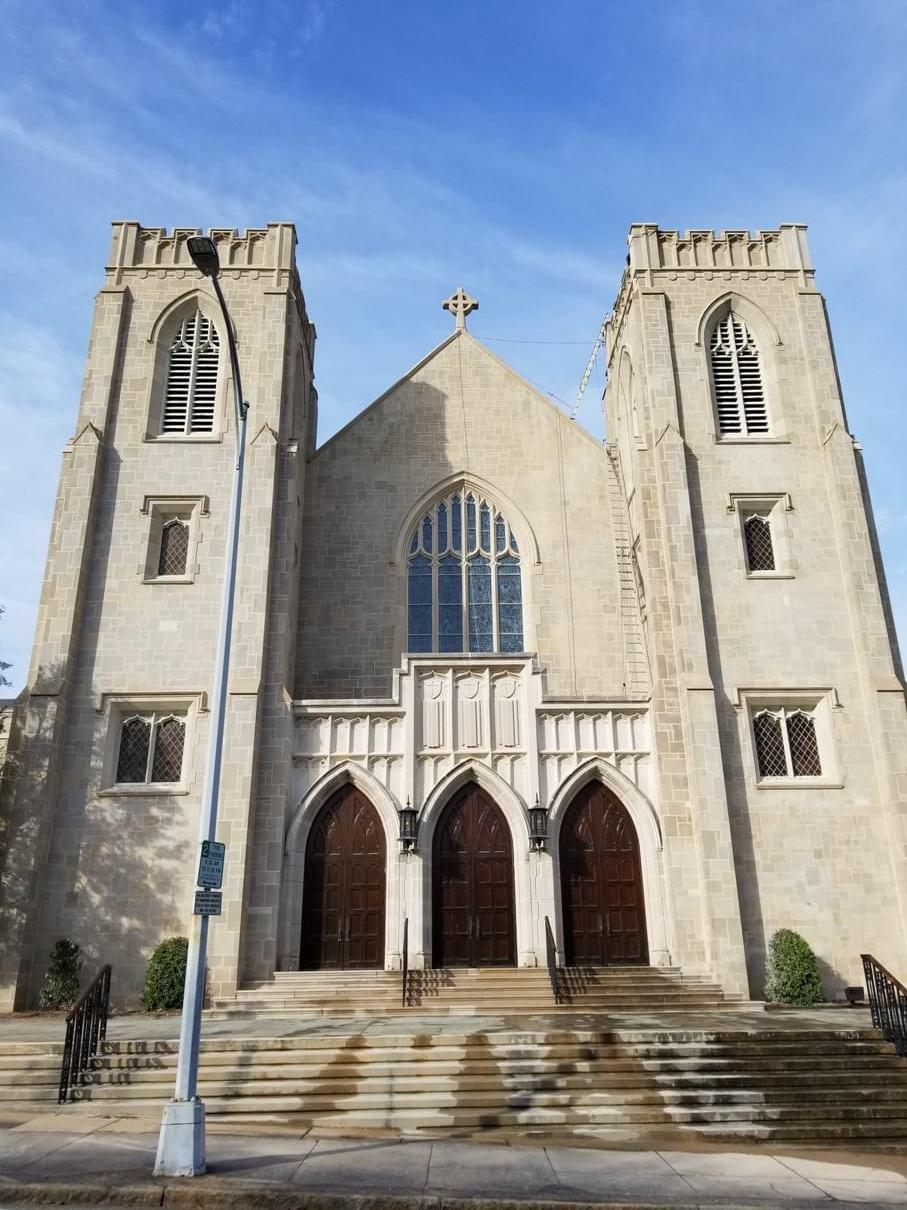 historic masonry restoration tuck pointing