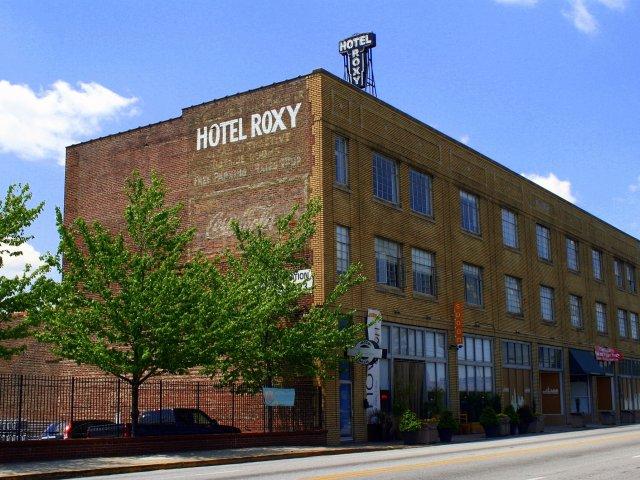 Hotel Roxy Lofts in Atlanta, Georgia with restoration and waterproofing services by Presto Restoration