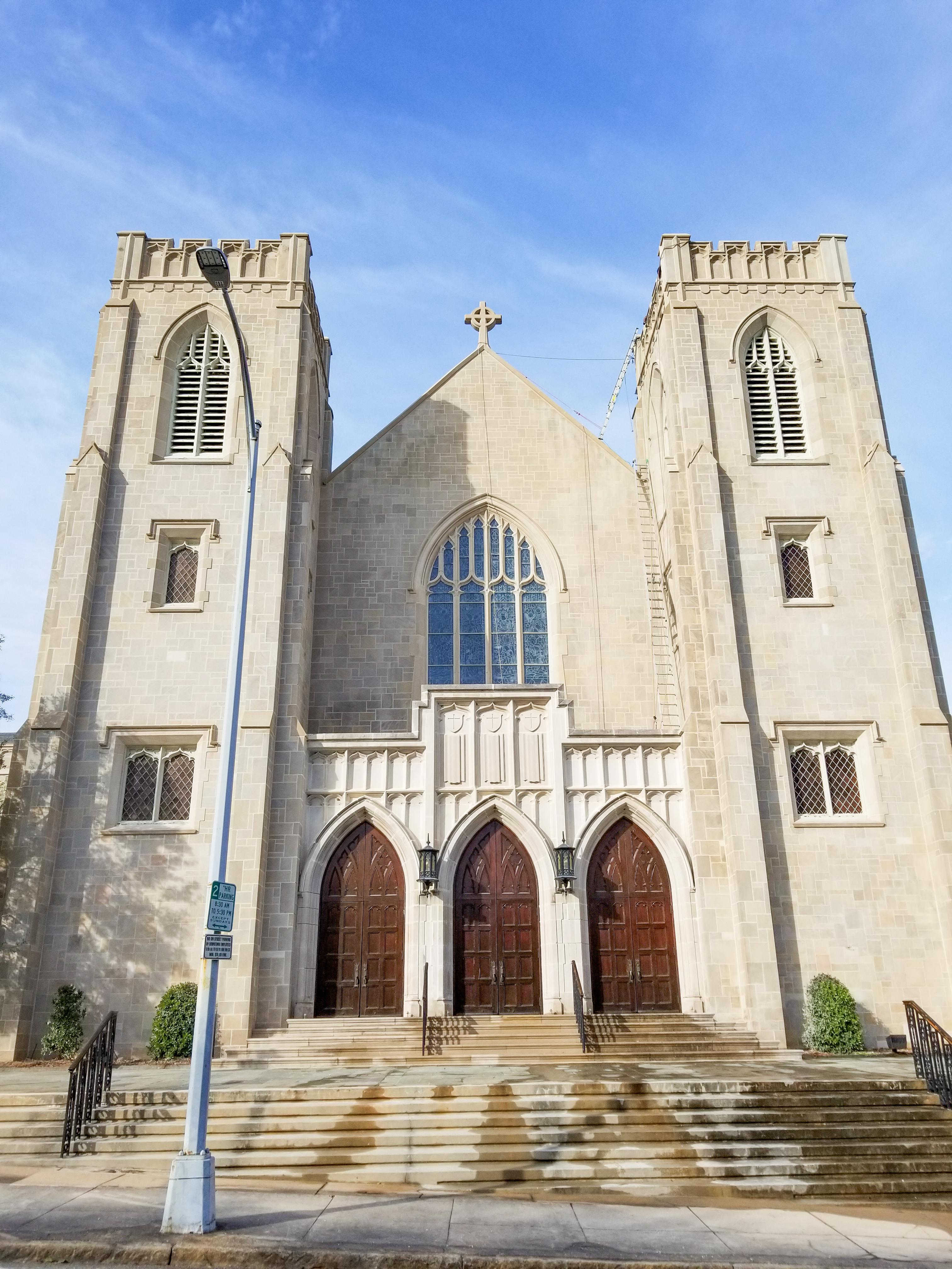 Mulberry Street United Methodist Church in Macon, Georgia