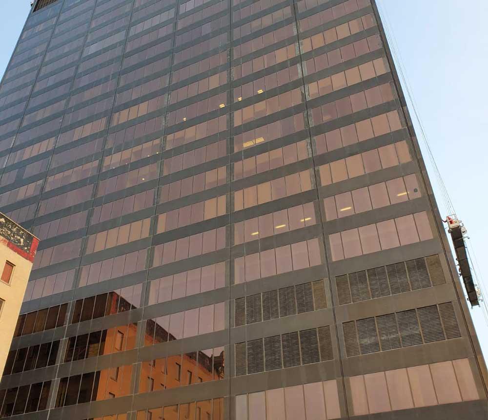 Stratacache glass and metal restoration in dayton ohio side view