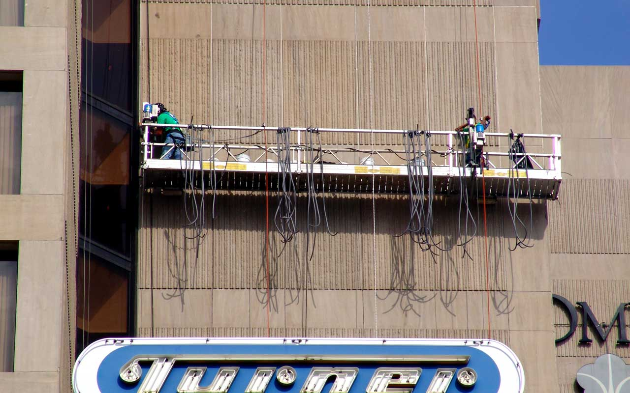 commercial caulking and sealant services provided by presto restoration