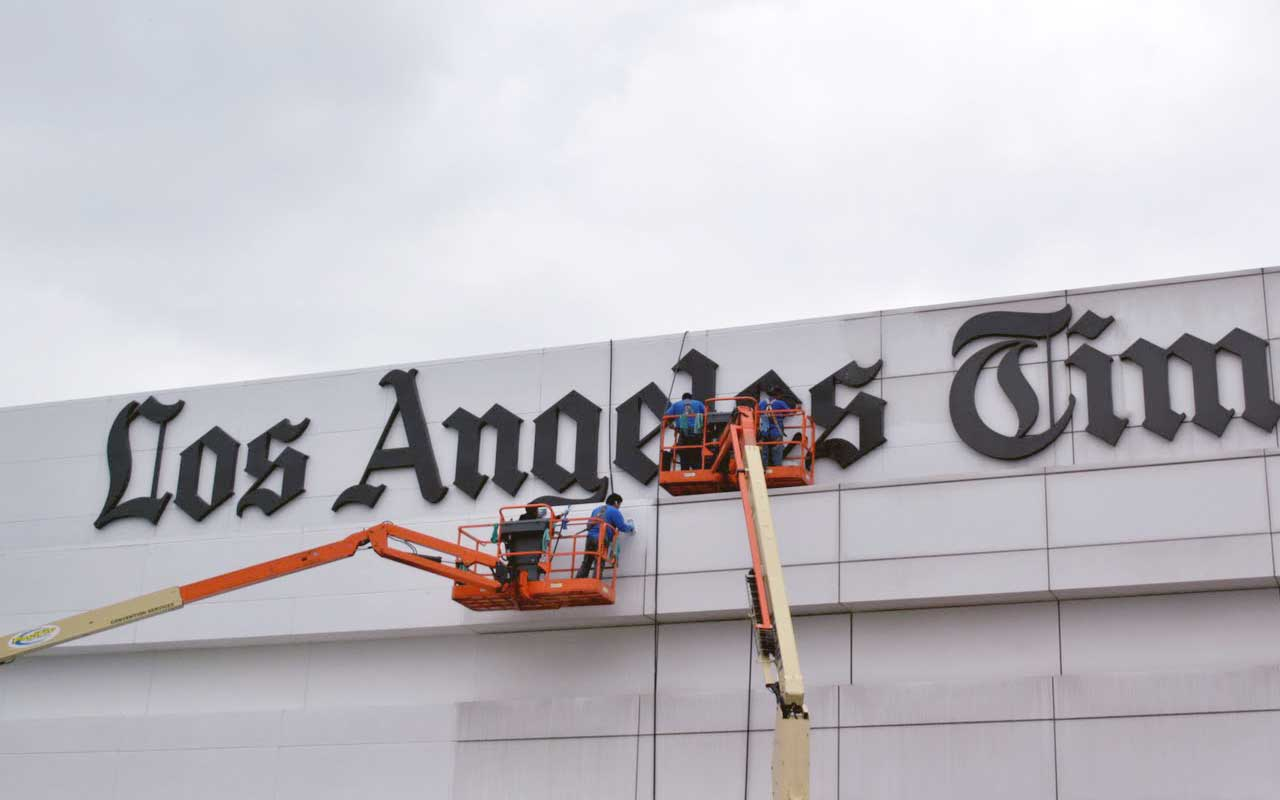 Presto restoring the metal envelope of a commercial building downtown los angeles