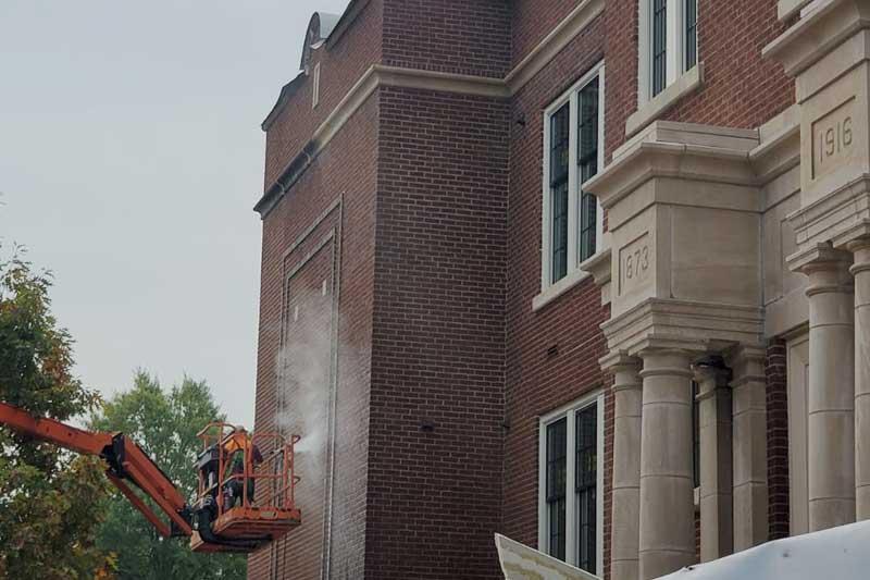 Historic building restoration in Nashville, Tennessee