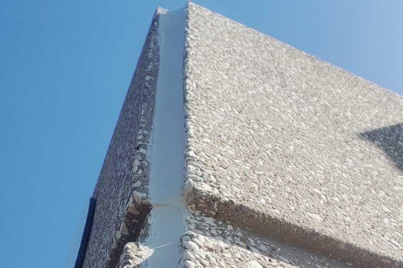 control joint caulking dallas texas office building