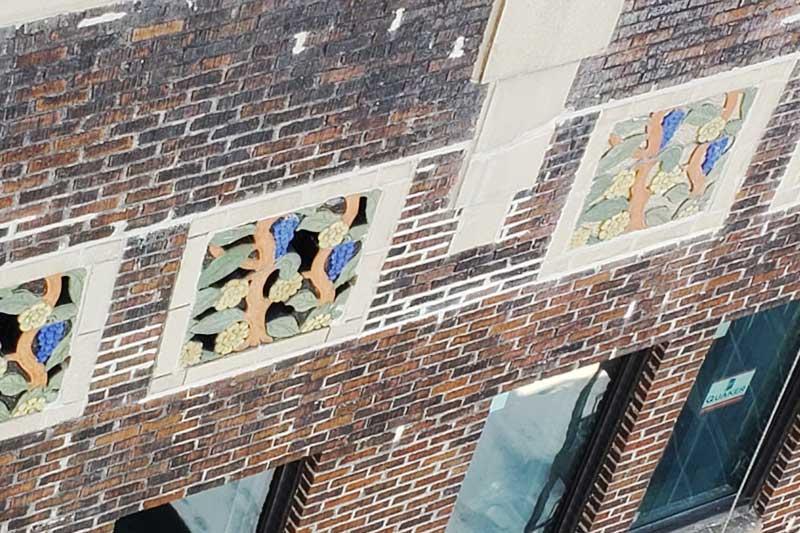 Masonry Repairs Threefoot Building Meridian Mississippi