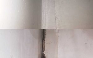 Before and After of Urethane Caulking Services