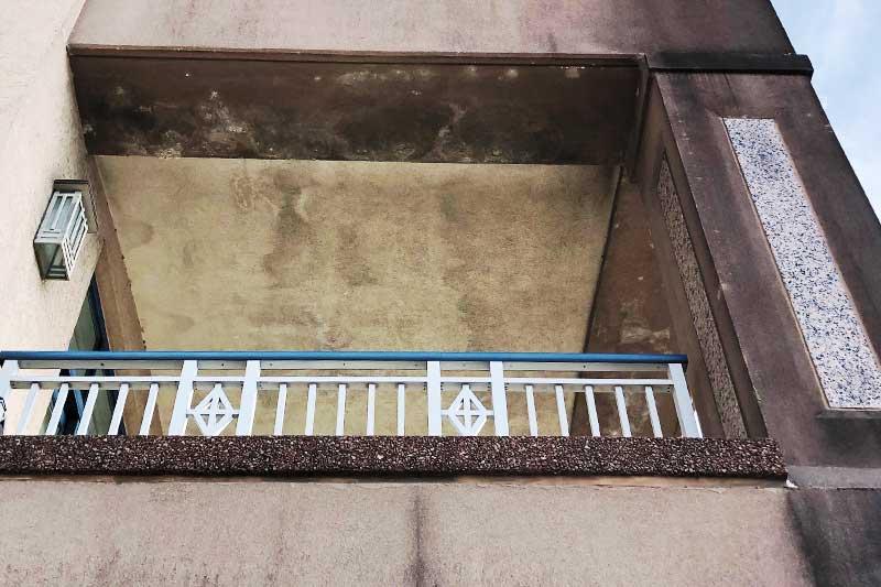 Covington-kentucky-glass-restoration-apartment-building-stone-stains