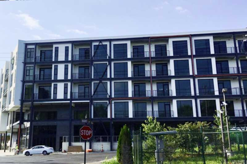 Luxury extended stay hotel in nashville gets glass restoration services