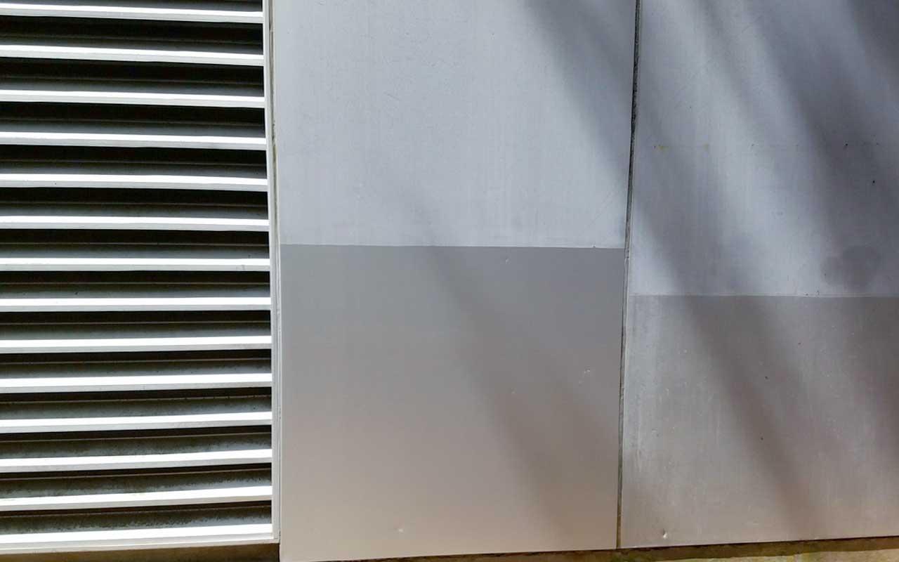 Aluminum Restoration Test Panels