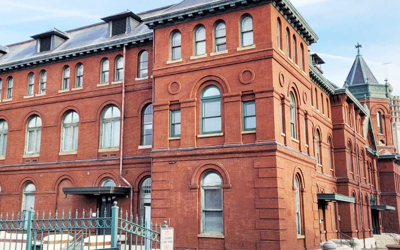 Brick Commercial Building I Need of Brick Restoration Services