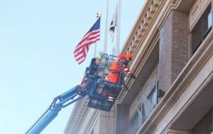 High Pressure Cleaning and Sealing Commercial Building